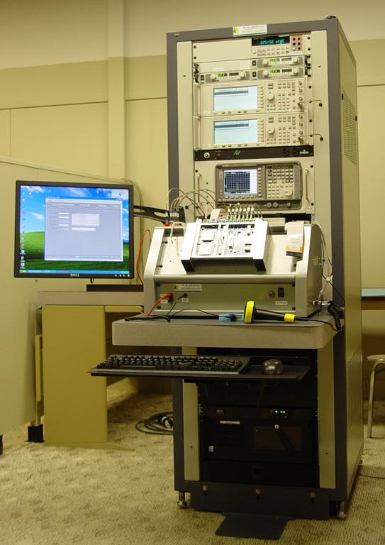 Test Equipment Racks : Integrated rf test rack developed by r a wood associates