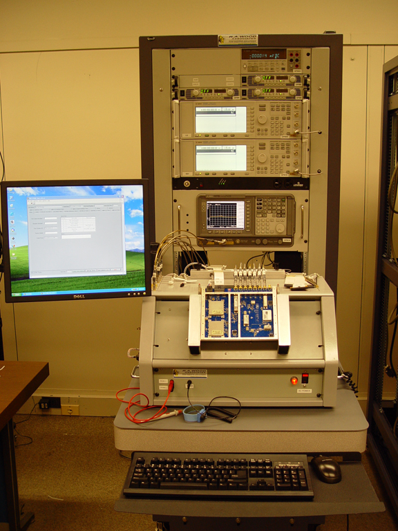 Integrated Rf Test Rack Developed By R  A  Wood Associates