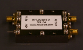 Extreme BW RF Amplifier